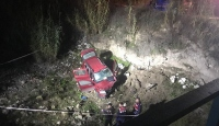 Manisa'da dereye devrilen otomobildeki muhtar öldü