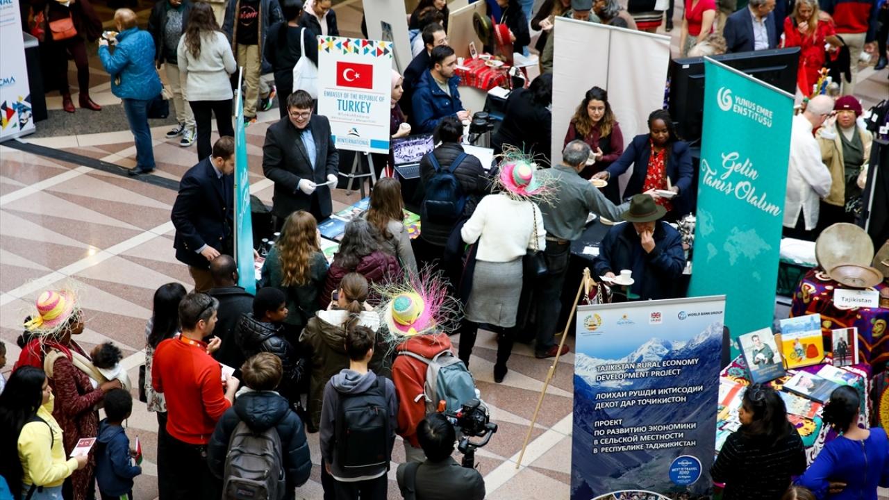 Washingtondaki uluslararası tanıtım etkinliğinde Türk lezzetlerine yoğun ilgi