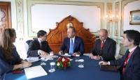 Dışişleri Bakanı Çavuşoğlu'ndan Roma'da diplomasi trafiği