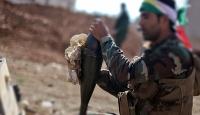 Fransız askerlerinden Suriye'de PKK/YPG'li teröristlere topçu atışı eğitimi