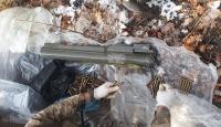 Bitlis'te PKK'lı teröristlere ait mermi ve lav silahı ele geçirildi