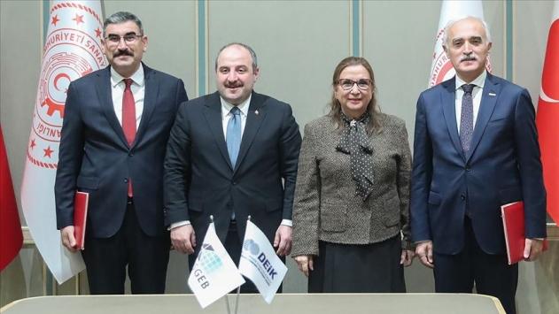 KOSGEB ile DEİK arasında iş birliği protokolü