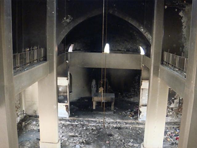 Esed rejimi İdlib'de Ortadoks kilisesini hedef aldı
