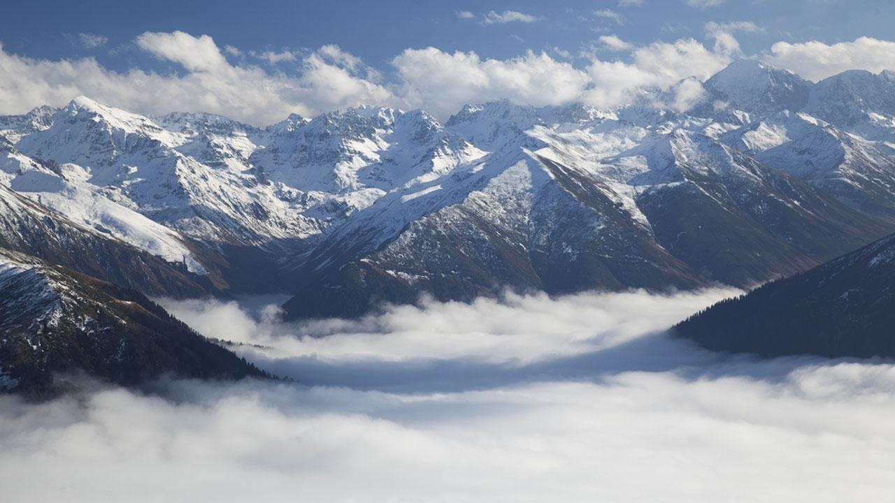 Kaçkar Dağlarının eşsiz görüntüsü