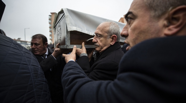 Kılıçdaroğlunun dayısı Hasan Ali Gündüz son yolculuğuna uğurlandı