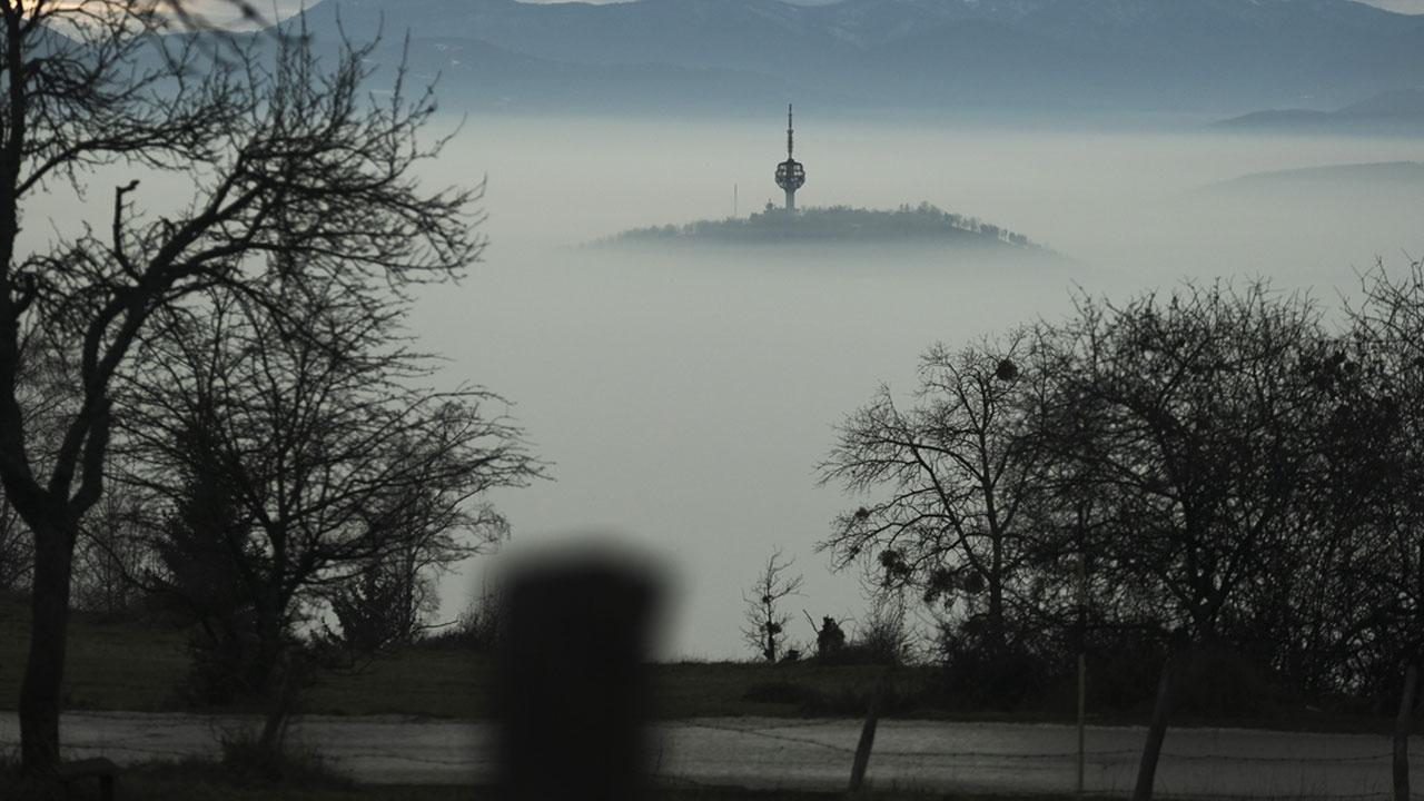 Saraybosnada hava kirliliği tehlikeli seviyeye ulaştı