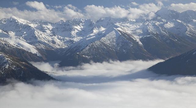 Eşsiz manzarasıyla Kaçkar Dağları