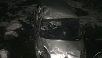 Giresun'da hafif ticari araç dereye yuvarlandı: 1 ölü, 1 yaralı