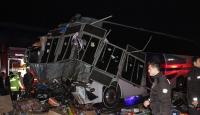 Düzce'de yolcu otobüsü ile tır çarpıştı: 2 ölü, 35 yaralı