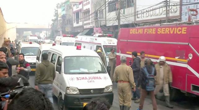 Hindistanda fabrika yangını: 43 ölü, 50 yaralı