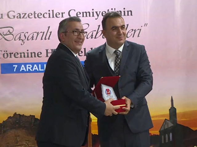 Güneydoğu Gazeteciler Cemiyeti'nden TRT'ye 4 dalda ödül