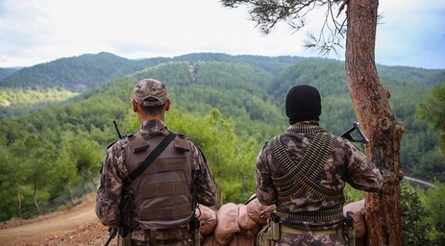 Amanos Dağlarının kahramanları zorlu kış şartlarına hazır