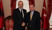 Cumhurbaşkanı Erdoğan, Arnavutluk Başbakanı Rama'yı kabul etti