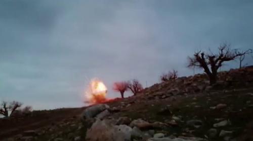 Siirt'te PKK'lı teröristlerin tuzakladığı patlayıcı imha edildi