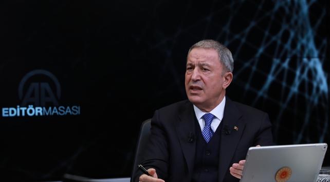Bakan Akar: Mutabakat Libya ve Türkiyenin haklarının kollanması için yapıldı