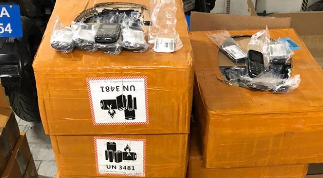 Kocaelide 11 bin kaçak cep telefonu ele geçirildi