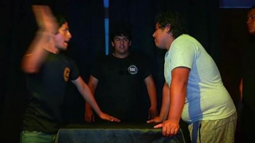 Peru'da 'tokat atma' yarışması