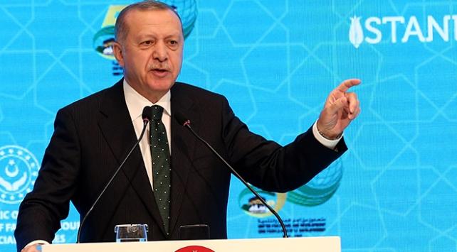 Cumhurbaşkanı Erdoğan: İsrailin hoyratlığı kimi Arap devletleri tarafından teşvik ediliyor