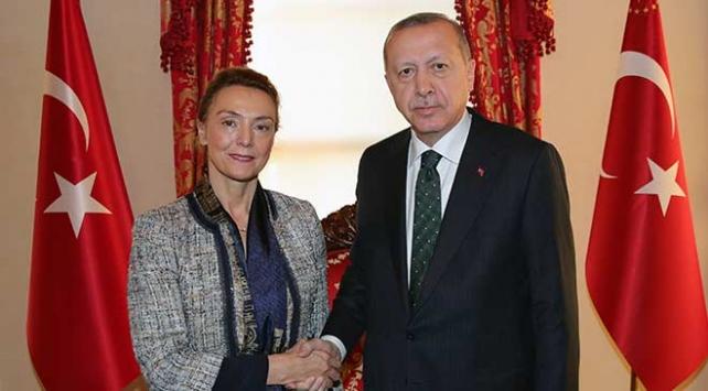 Cumhurbaşkanı Erdoğan Avrupa Konseyi Genel Sekreteri Burici kabul etti