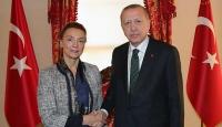 Cumhurbaşkanı Erdoğan Avrupa Konseyi Genel Sekreteri Buric'i kabul etti