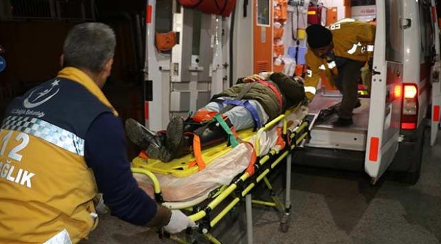 Erzincanda otobüs kazası: 15 yaralı