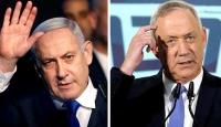 """Rakibi Gantz'dan, Netanyahu'ya """"dokunulmazlık talebinden vazgeç"""" çağrısı"""