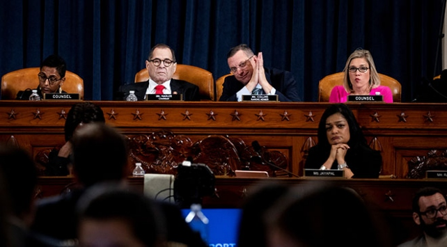 ABD Temsilciler Meclisi Adalet Komitesinde ikinci azil oturumu yapıldı