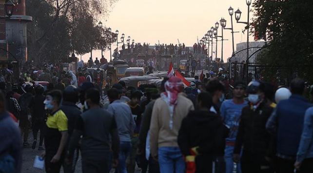 Bağdatta, milyonluk gösteri öncesi güvenlik önlemleri artırıldı