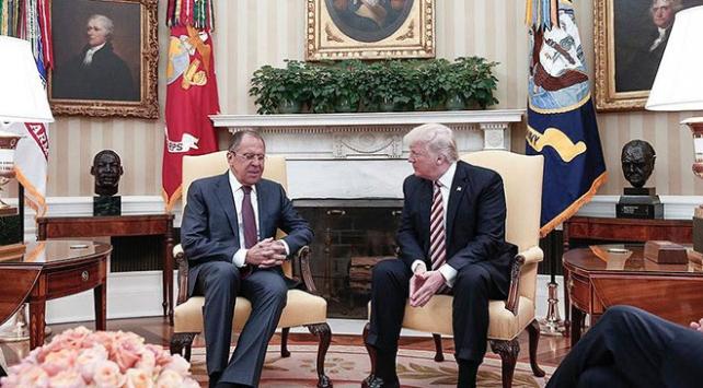 Trump ve Lavrov Beyaz Sarayda bir araya gelecek
