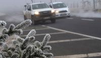 İç ve doğu kesimler için buzlanma ve don uyarısı