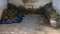 Rasulayn'da bir eve tuzaklanan 565 havan mühimmatı imha edildi
