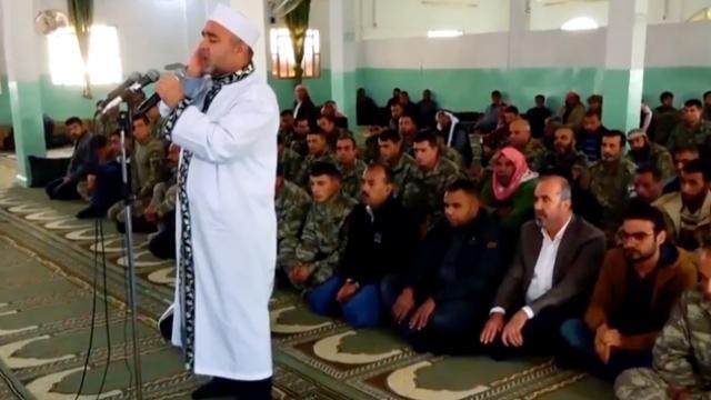 Tel Abyad ve Rasulayn'da halk artık özgürce ibadet ediyor