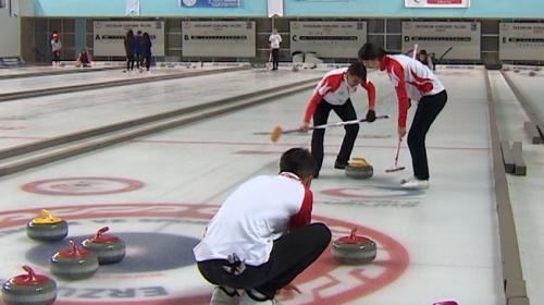 Curling Genç Milli Takımının şimdiki hedefi İsveç şampiyonası