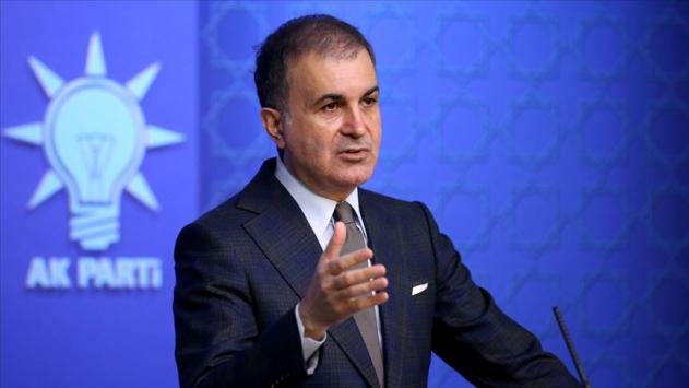 AK Parti Sözcüsü Çelik: Nobel ödülünün saygınlığına gölge düşmüştür
