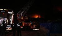 Kayseri'de yatak üretimi yapan fabrikada yangın