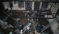 Kahramanmaraş'ta tüp patlaması evi kül etti