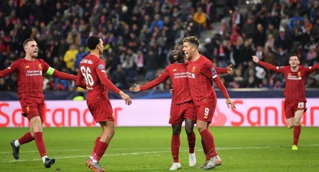 Liverpool lider bitirdi