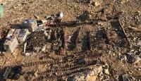 Hakurk'ta ele geçirilen terör örgütüne ait mühimmat imha edildi