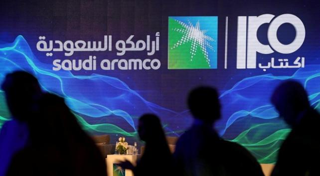 Aramco hissesi Suudi borsası Tadawulda işlem görmeye başladı
