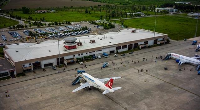 Samsun Çarşamba Havalimanı'nı 1 milyon 392 bin 586 kişi kullandı
