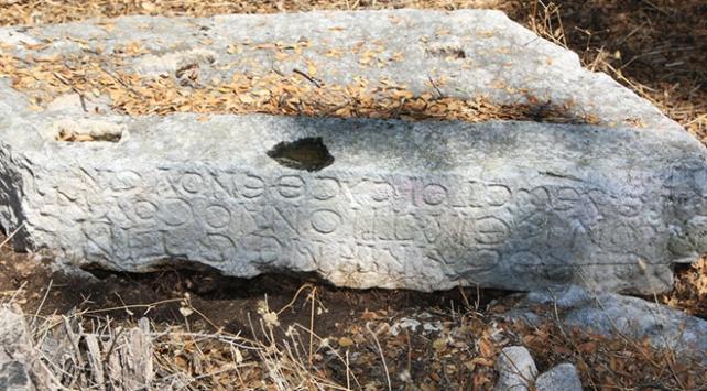 Muğlada bin 500 yıllık hastane yazıtı bulundu