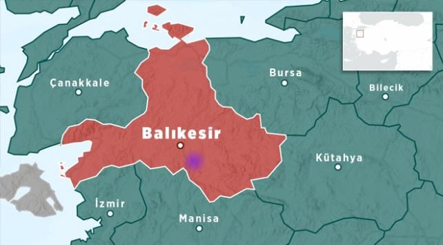Balıkesirde 3,7 büyüklüğünde deprem