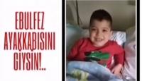 Iğdırlı öğrenciler kemik tümörü hastası çocuk için yardım kampanyası başlattı