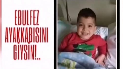 Iğdırlı öğrenciler kemik tümörü hastası çocuk için yardım kampanyası başlattılar