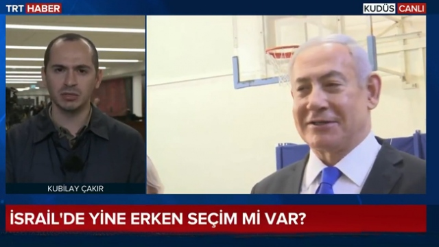 İsrail üçüncü seçime hazırlanıyor