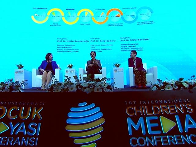 Türkiye'nin çocuk odaklı tek medya konferansı başladı