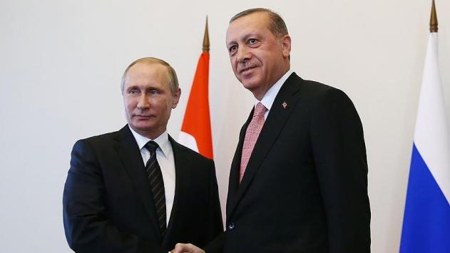 Cumhurbaşkanı Erdoğan Putin ile Suriyeyi görüştü