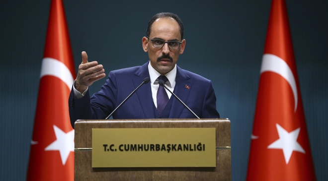 Cumhurbaşkanlığı Sözcüsü Kalın: Mültecilerin dönüşü 3 ana kritere göre olacak