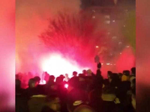 Paris'te PSG ve Galatasaray taraftarları arasında gerginlik