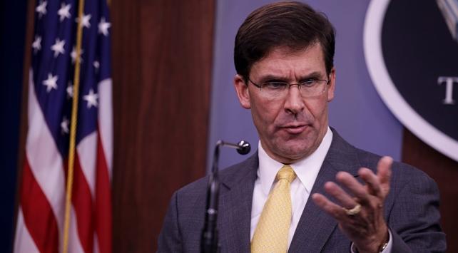 ABD Savunma Bakanı Esper: Türkiyenin bir numaralı kaygısı terör örgütü PKKnın saldırıları